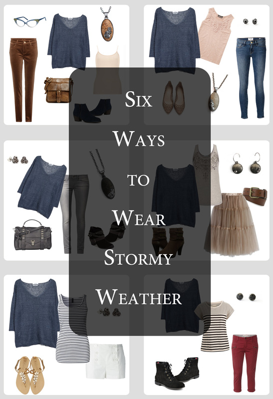 Pantone's Stormy Weather + Casey Sharpe Jewelry